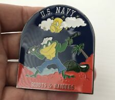 USN NAVY SEAL TEAM SCOUTS & RAIDERS FREDDIE THE FROG NSW CHALLENGE COIN NON CPO