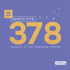 Sunfly Karaoke Hits SF378 August 2017 (CDG) Official Sunfly - Free UK Post