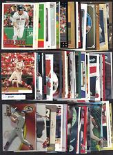 JD Drew 66-Card Lot - RCs Inserts & Oddballs - Listed - Cardinals Braves Red Sox
