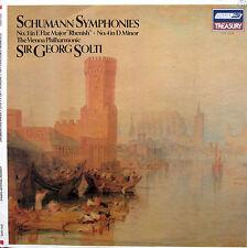 Schumann Symphony 3 & 4 Georg Solti Vienna Philharmonic  - London STS 15575