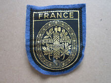 France Woven Cloth Patch Badge