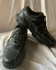OAKLEY MENS LEATHER GOLF SHOES SIZE 10 BLACK