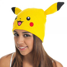 Pokemon Pikachu Beanie w/ Ears - Winter Hat - Bioworld New!