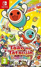Taiko no Tatsujin Drum 'n' Fun! Nintendo Switch video juego de la versión original de Reino Unido