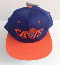Vintage cleveland cavs official basketball Baseball Cap, blue and orange new