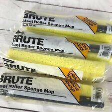 Rubbermaid Commercial BRUTE Steel Roller Sponge Mop Head Refill 6436