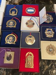 White House Ornament Lot Of 11