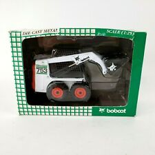 Bobcat Die Cast Metal Loader Operational Model #753 Skid Steer Melroe 1:25 New
