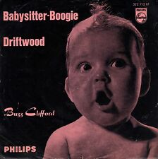 "7"" Buzz Clifford – Baby-sitter-BOOGIE/Driftwood // Germany 1961"