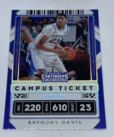 2020 Panini Contenders Draft Holographic Foil CAMPUS  #7 Anthony Davis VARIATION