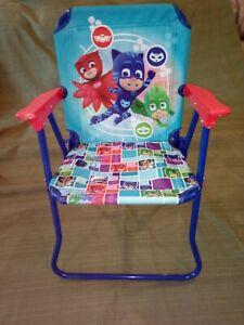 "PJ Mask Kid Folding Chair 20"" High."