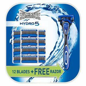 Wilkinson Sword Hydro 5 Razor with 13 Blade Refills