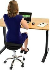 WOBBLE STOOL AIR rolling active sitting balance ball office desk chair wheels