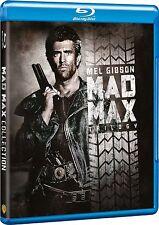 MAD MAX 1 2 3 TRILOGIE 1-3 MEL GIBSON DEUTSCHER TON BLU RAY UNCUT