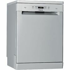 Hotpoint HFC3C26WSV Standard Dishwasher Silver a + Energy Rated Freestanding