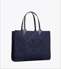 ON HAND Authentic TORY BURCH ELLA MINI TOTE - NAVY
