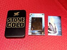 STONE COLD STEVE AUSTIN WWE Authentic Images THICK 24KT GOLD CARD #158/25K WWF
