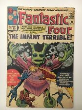 FANTASTIC FOUR #24 // The Infant Terrible // VG/FN