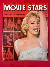 Vtg Movie Stars Magazine Sep 1955 Beautiful Marilyn Monroe Pinup Cover