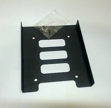 """2.5"""" HDD / SSD to 3.5"""" Bay Mounting Adapter Bracket for Desktop Computer PC Case"""