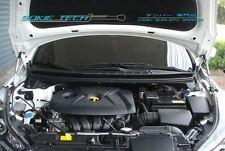 Black Strut Lift Bonnet Hood Damper Kit for 11-15 Hyundai Elantra Avante MD UD