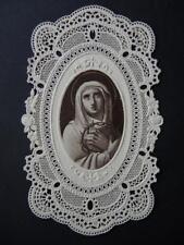 Spitzenbild  DOLOROSA  paper lace , santino , canivet , Luxuspapier  (#SP#)