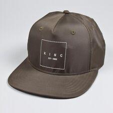 King Apparel Brampton Pinch Panel Snapback Cap - Fern - One Size [NEW]