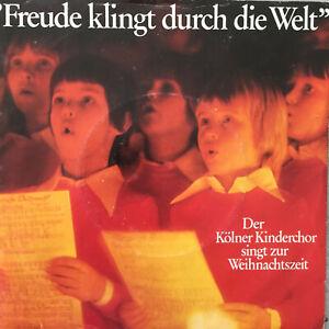 DER KÖLNER KINDERCHOR SINGT ZUR WEIHNACHTSZEIT (Single Odeon 7 F 665 744 / NM)