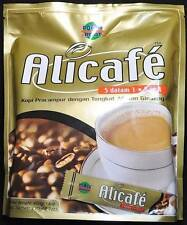 60 - 3 BAGS Alicafe Premix 5 in 1 Coffee With Tongkat Ali Ginseng 20g Power Root