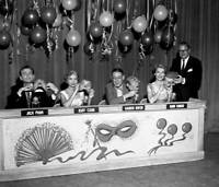 OLD CBS TV RADIO PHOTO Masquerade Party A Cbs Television Game Show 1954 1