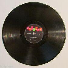 CARLOS DIAZ / CUANDO PASAN LOS AÑOS / DOS DESTINOS / 78 RPM RECORD