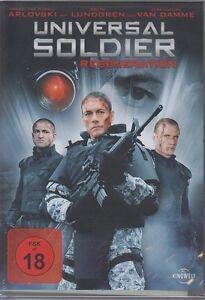 Universal Soldier Regeneration     DVD NEU FSK 18