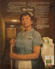1960's Vintage ad for Holiday Inn`Mrs Clean`Maid`Holiday Inn Sign