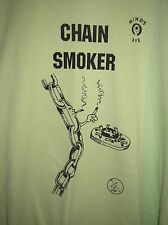 NEW-- X LARGE FRUIT OF THE LOOM 2000 ORIGINAL (CHAIN SMOKER)  T-SHIRT-LIME GREEN