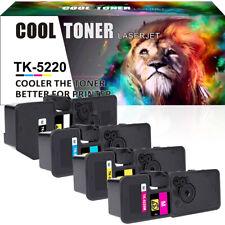 4x Toner für TK-5220 TK5220 Kyocera Ecosys M5521cdn M5521cdw P5021cdw P5021cdn