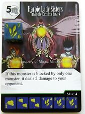 Yu-Gi-Oh! HARPIE LADY SISTERS Triangle Ecstasy Spark #052 Yugioh Dice Masters 52
