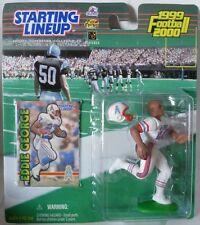1999 Eddie George - Starting Lineup -Slu -Sports Figurine - Houston Oilers