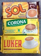 3-pk (1500g) Luker Corona Diana Sol (Choose 1 brand or Mix) Hot Chocolate Import