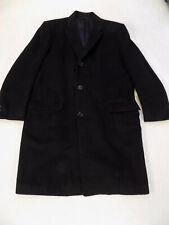 MENS BLACK DRESS OVERCOAT