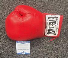 Conor McGregor signed boxing Everlast red Glove firmado Beckett Bas coa MMA nuevo