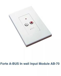 Forte A-BUS In wall Input Module AB-70
