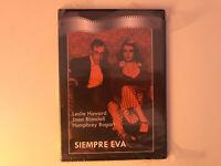 SIEMPRE EVA DVD NUEVA HUMPHREY BOGART LESLIE HOWARD JOAN BLONDELL PRECINTADA