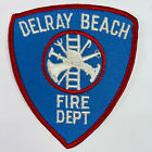 Delray Beach Fire Department Palm Beach County Florida FL Patch (I5)