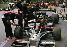 Mario Andretti JPS Lotus 78 Monaco Grand Prix 1977 Photograph 5