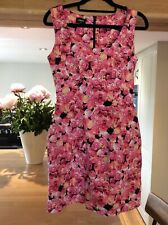Women's Dress Size 8 From Oasis In Pink Flowered Lovely Condition