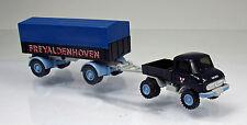 """Wiking 037104 Unimog U 411 mit Anhänger """" Freyaldenhoven """""""