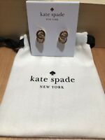 Valentine's Kate Spade New York Infinity And Beyond Gold Tone Earrings Sold Out