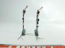 BH253-0,5# 2x Fleischmann H0/DC Signal principal/Signal vantail/Signal: 6205 +