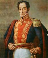 libertador simon bolivar Handcraft portrait Oil Painting on Canvas #017 No Frame