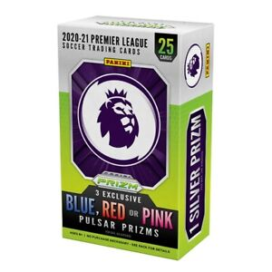 2020-21 Panini Prizm Premier League Soccer Cereal Box 25-Card Box Pre-Order